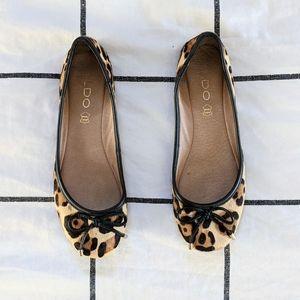 Aldo Cheetah Print Flats